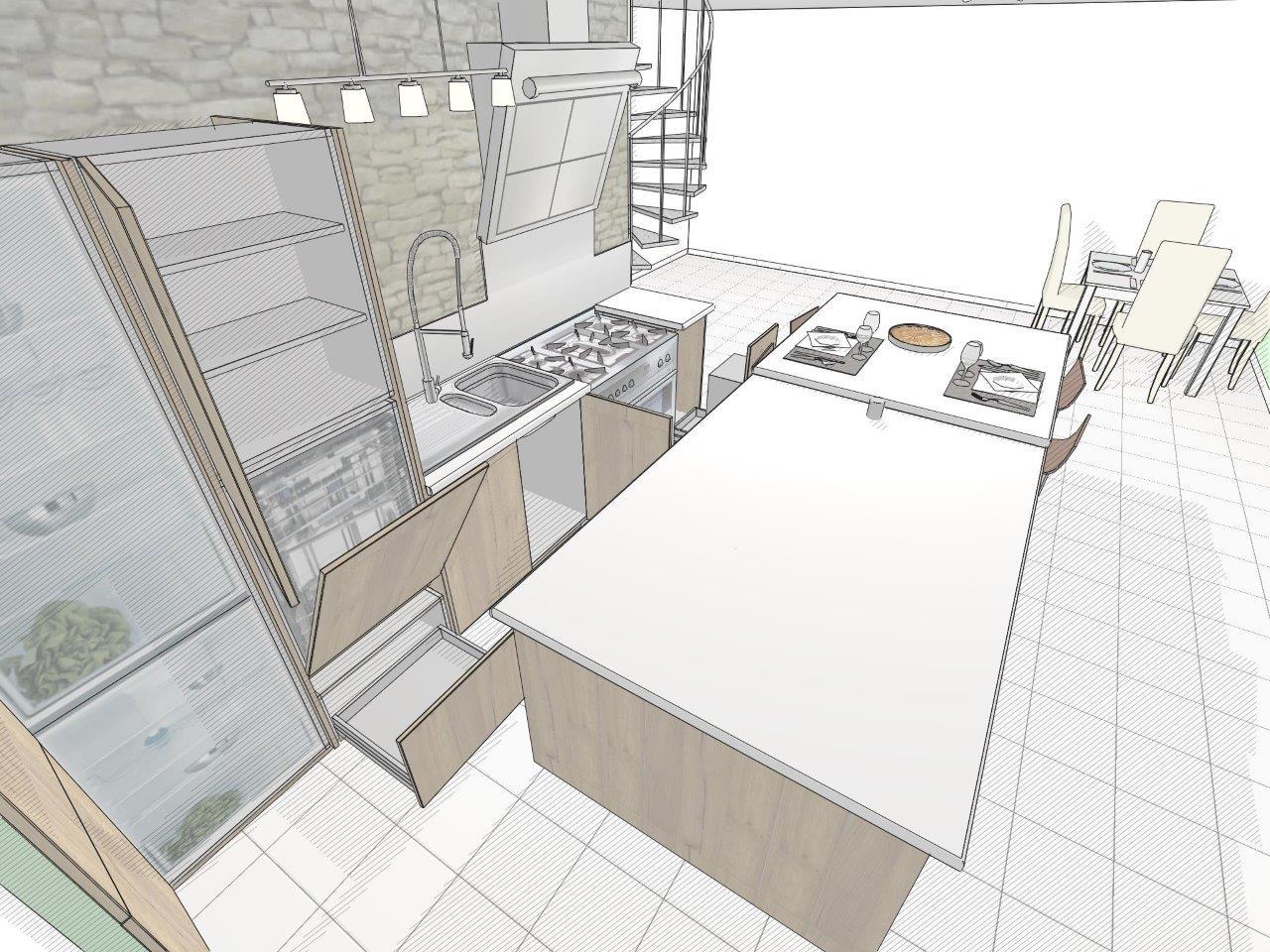 rendu 13 kodes3d logiciels cuisines