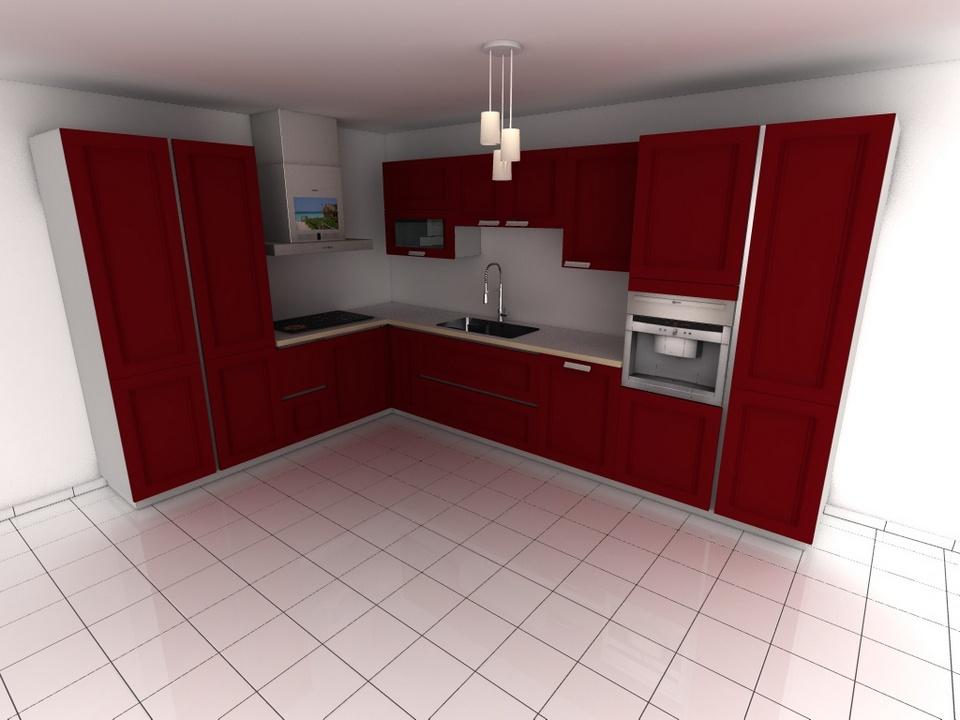 rendu 3d fin logiciel cuisines kodes3d